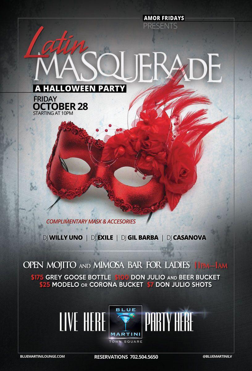 masquerade flyer